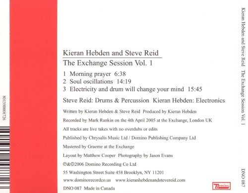 The Exchange Session, Vol. 1