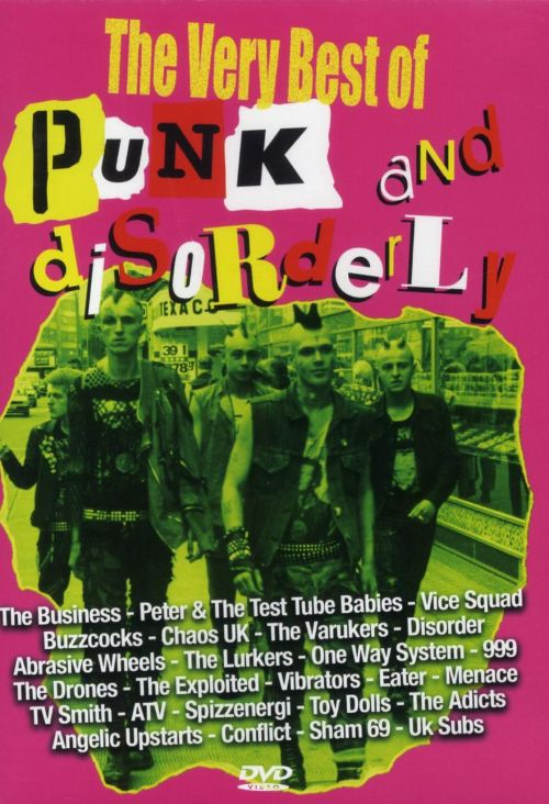 The Very Best of Punk & Disorderly [DVD]
