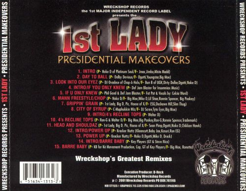 1st Lady Presidential Remixes