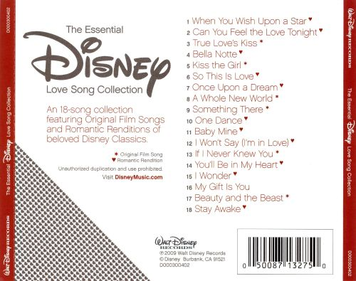 essential disney love song collection disney songs reviews credits allmusic