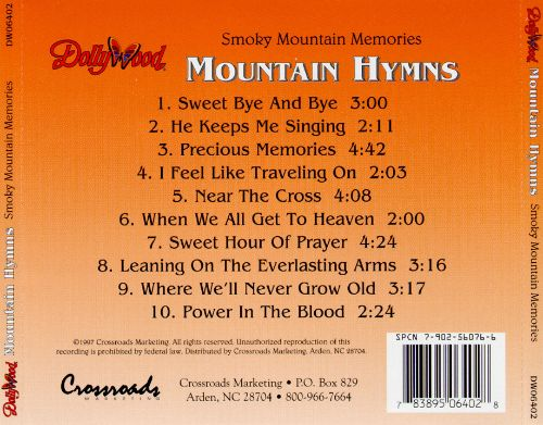 Smoky Mountain Memories: Mountain Hymns