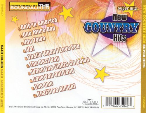New Country Hits: Super Hits