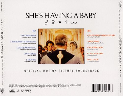 She's Having a Baby [Original Motion Picture Soundtrack]