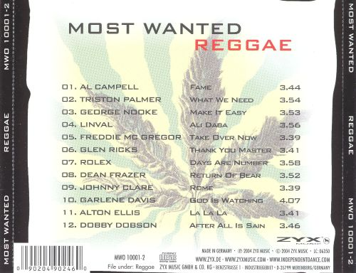 Most Wanted: Reggae