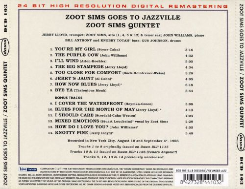 Zoot Sims Goes to Jazzville