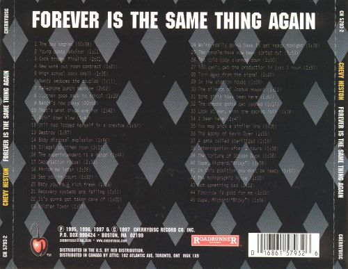 Forever Is the Same Thing Again