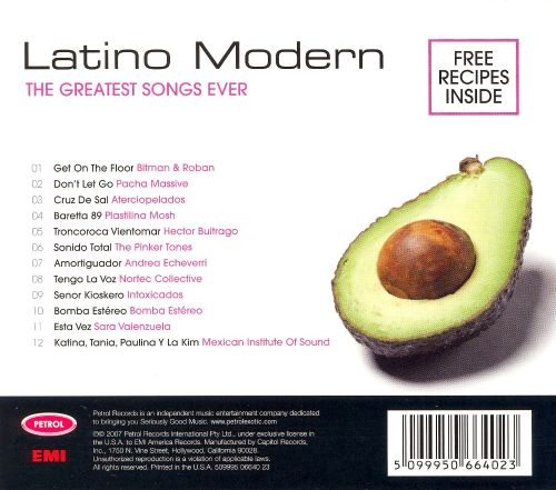 Petrol Presents: Greatest Songs Ever - Latino Modern