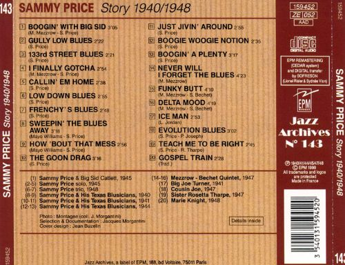 Sammy Price: Blues & Boogie Woogie from Texas