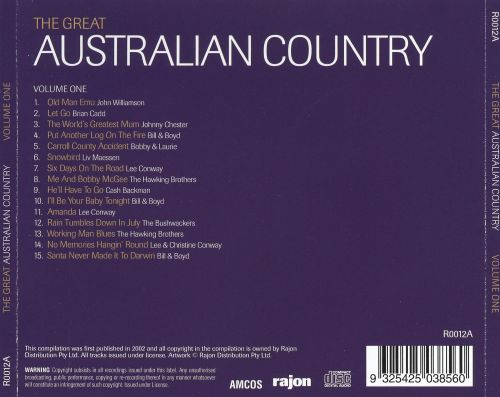 The Great Australian Country, Vol. 1
