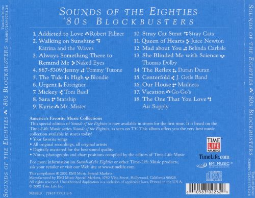 Sounds of the Eighties: 80's Blockbusters [2003]