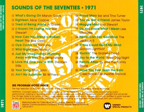 Sounds of the Seventies: 1971