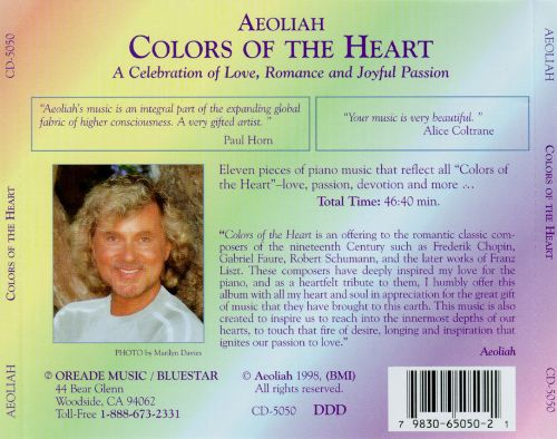 Colors of the Heart: Celebration of Love Romance