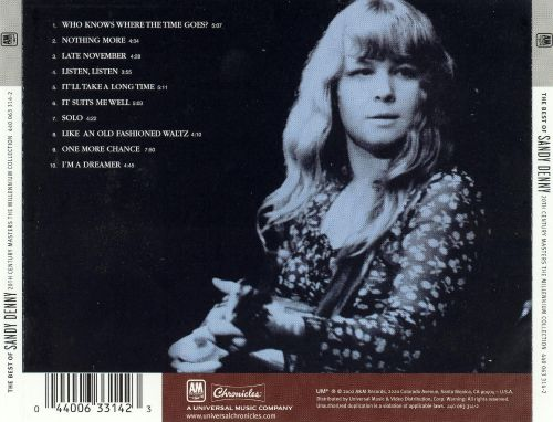 The 20th Century Masters - The Millennium Collection: The Best of Sandy Denny