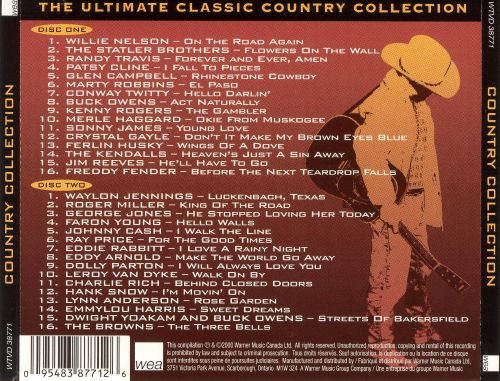 The Ultimate Collection Country Greats: The Ultimate Classic Country Collection