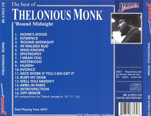 The Best of Thelonious Monk: Round Midnight