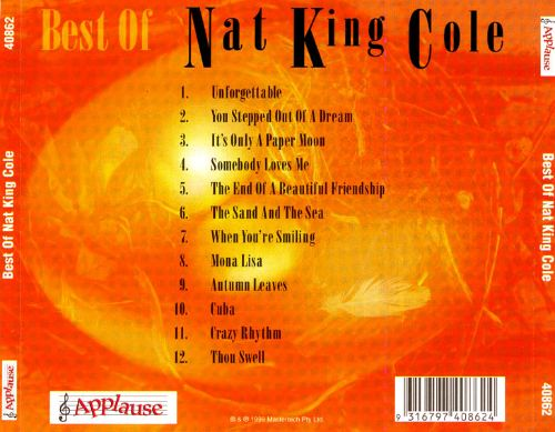 Best of Nat King Cole [Applause]