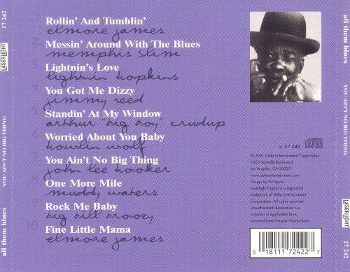 All Them Blues: You Ain't No Big Thing