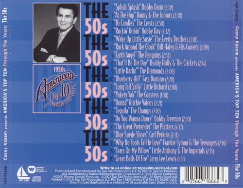 Casey Kasem: America's Top 10 Through Years - The 50's
