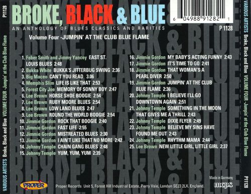 Broke, Black and Blue, Vol. 4: Jumpin' at the Club Blue Flame