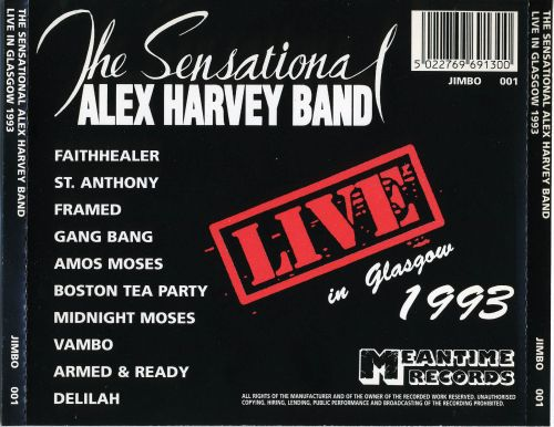 Live in Glasgow 1993