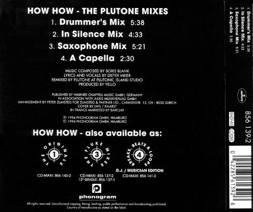 How How: The Plutone Mixes