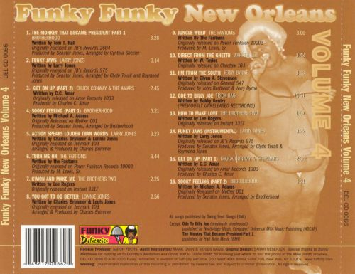 Funky Funky New Orleans, Vol. 4