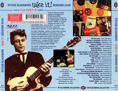 Take It: Sessions '63-'68