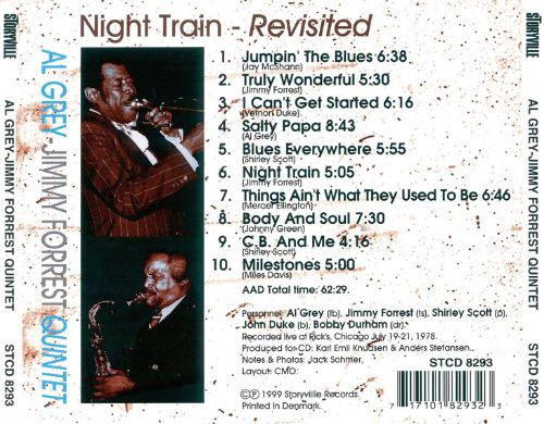 Night Train Revisited