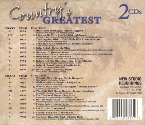 Country's Greatest [2003]