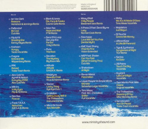 Various artists mos: clubbers guide to 2002 amazon. Com music.