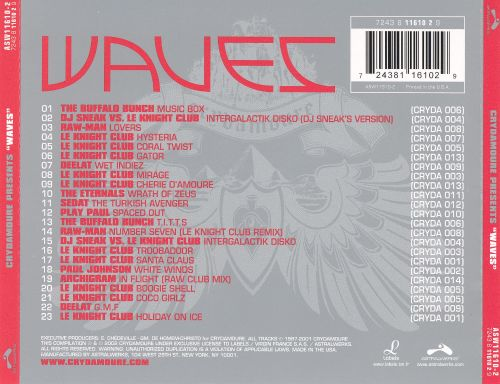 Crydamoure Presents Waves