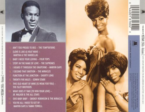 20th Century Masters - The Millennium Collection: Motown 1960s, Vol. 2