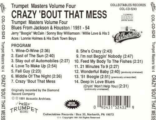 Trumpet Masters, Vol. 4: Crazy 'Bout That Mess