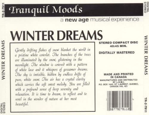 Tranquil Moods: Winter Dreams