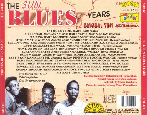 The Sun Blues Years