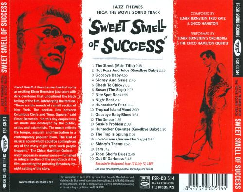 Sweet Smell of Success: Jazz Themes from the Movie Sound Track
