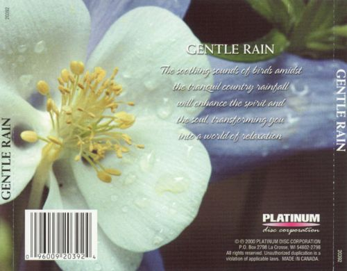 Gentle Rain [Platinum Disc]