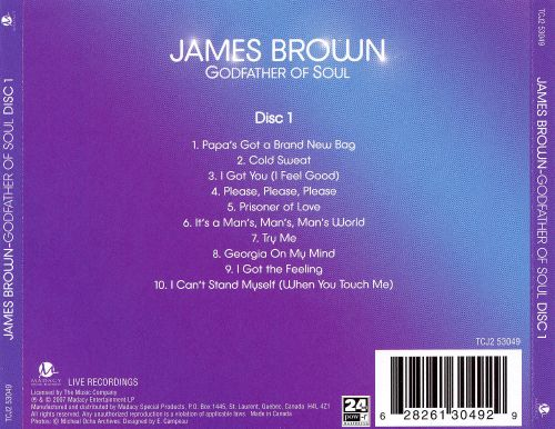 Godfather of Soul, Disc 1