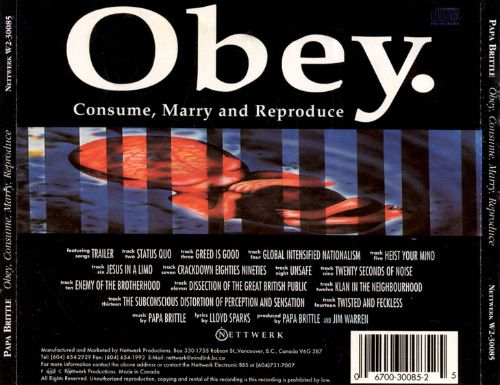 Obey Consume Marry Reproduce