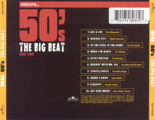 Real 50's: The Big Beat [Disc 2]