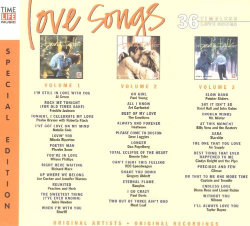 Old time love songs