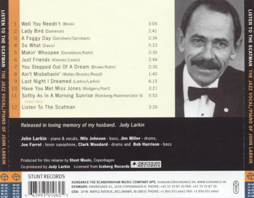 Listen to the Scatman