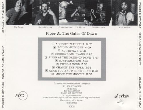 piper at the gates of dawn phil woods songs reviews credits allmusic. Black Bedroom Furniture Sets. Home Design Ideas