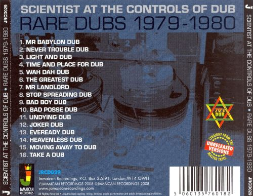 At the Controls of Dub: Rare Dubs 1979-1980