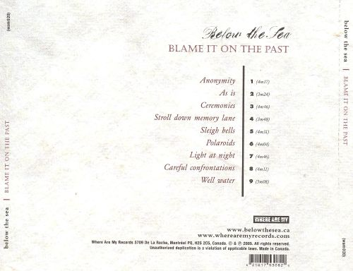 Blame It on the Past