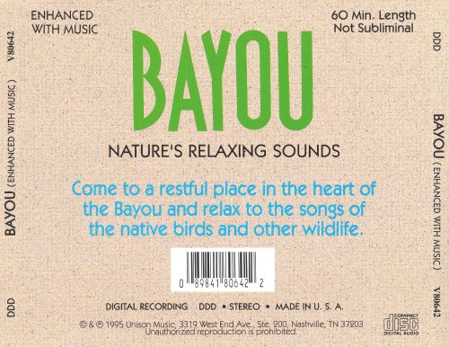 Bayou: Nature's Relaxing Sounds