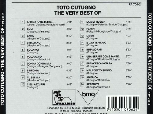 The Very Best of Toto Cutugno