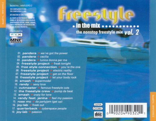 Freestyle in the Mix, Vol. 2