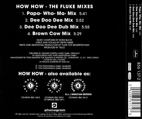 How How: The Fluke Mixes