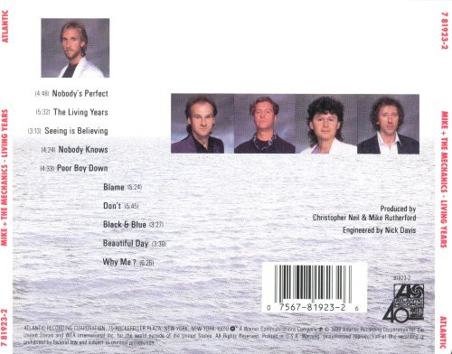 Mike & The Mechanics The Living Years